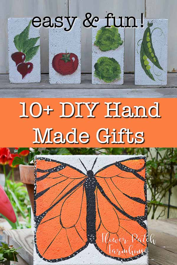 easy DIY hand made gifts your friends and family will love.  A wide variety of gifts you can create on a budget and enjoy doing so.  You can even make them for yourself.  #diygifts #handmade
