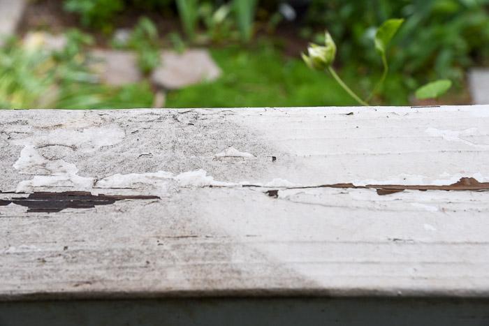 sun joe power washing of porch railings