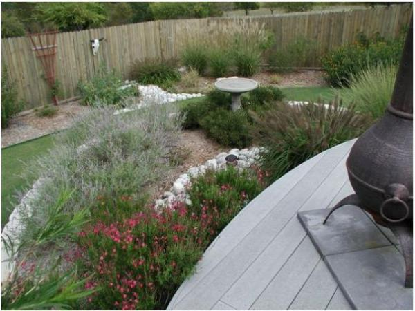 hot weather garden