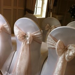 Blush Chair Sashes Uk Blue Folding Chairs Wedding Covers Flowers Sparkle Florist Sittingbourne