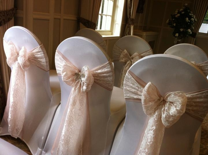 wedding chair sash lawn repair material covers flowers sparkle florist sittingbourne