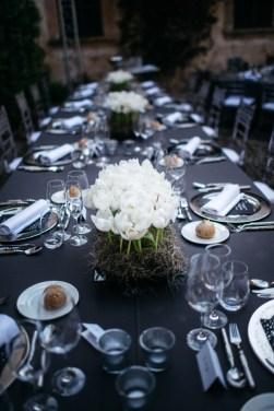 Es Fangar silver, white and black wedding (9)