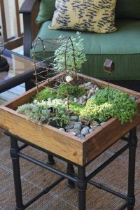 Miniature Garden Table