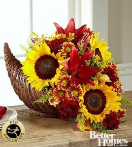 FTD® Fall Harvest™ Cornucopia