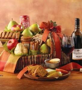Harvest Cornucopia of Treats with Wine