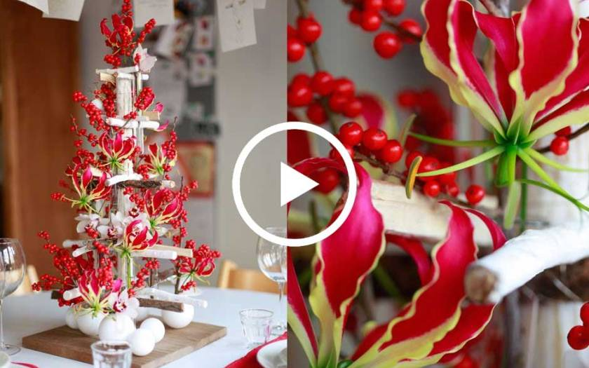 Scandinavian tabletop tree