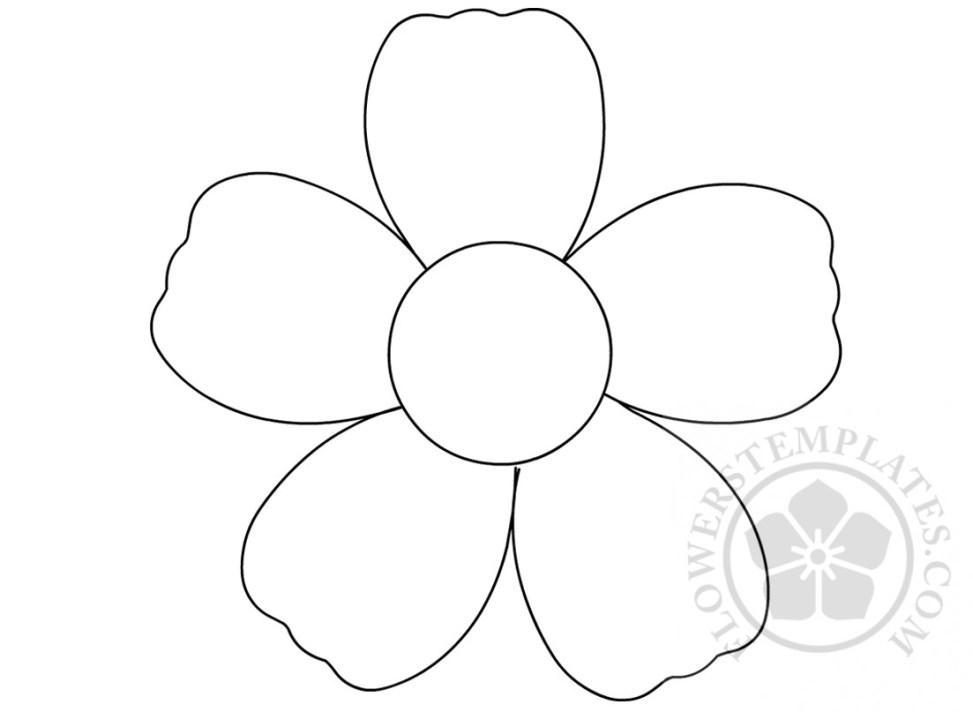 Lotus Flower Outline Sticker