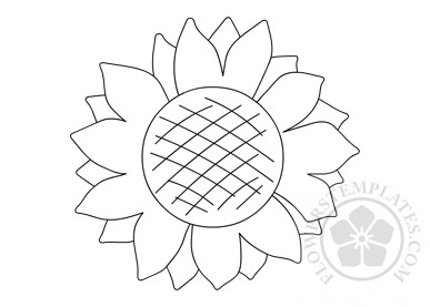 sunflower-coloring-page