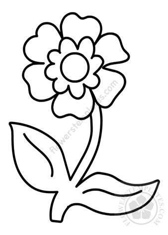 Fun and Pretty Coloring Pages for Adults with Flowers and Leaves ... | 472x338