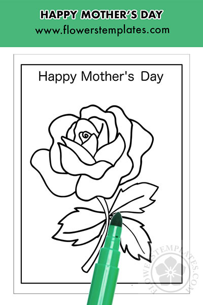 Happy Mother's Day rose