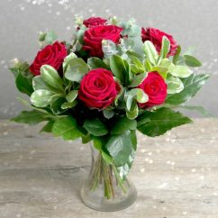Living Room Vase Decoration Grey And Gold Romance * Sweet Love Red Rose Bouquet With Free Chocolates ...