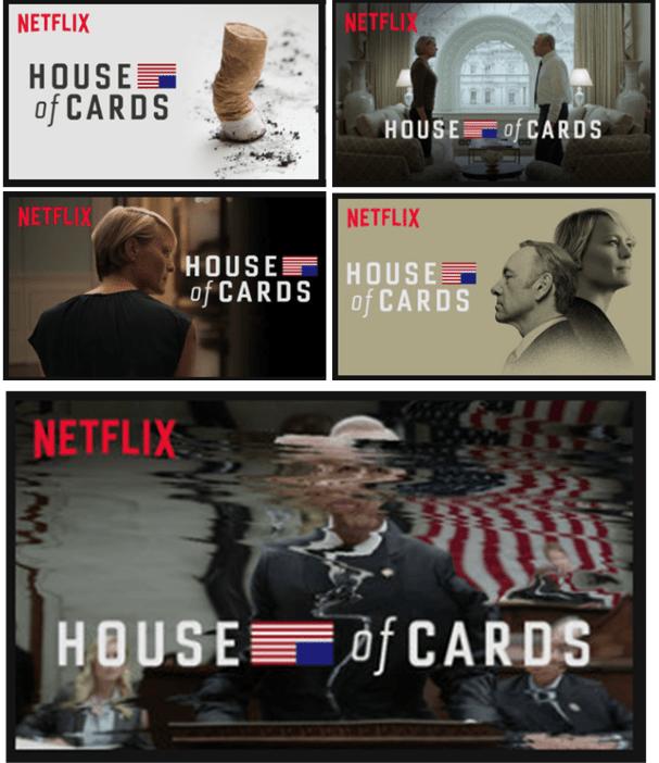 Resultado de imagen para different thumbnails house of cards