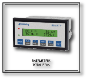 Ratemeters & Totalizers