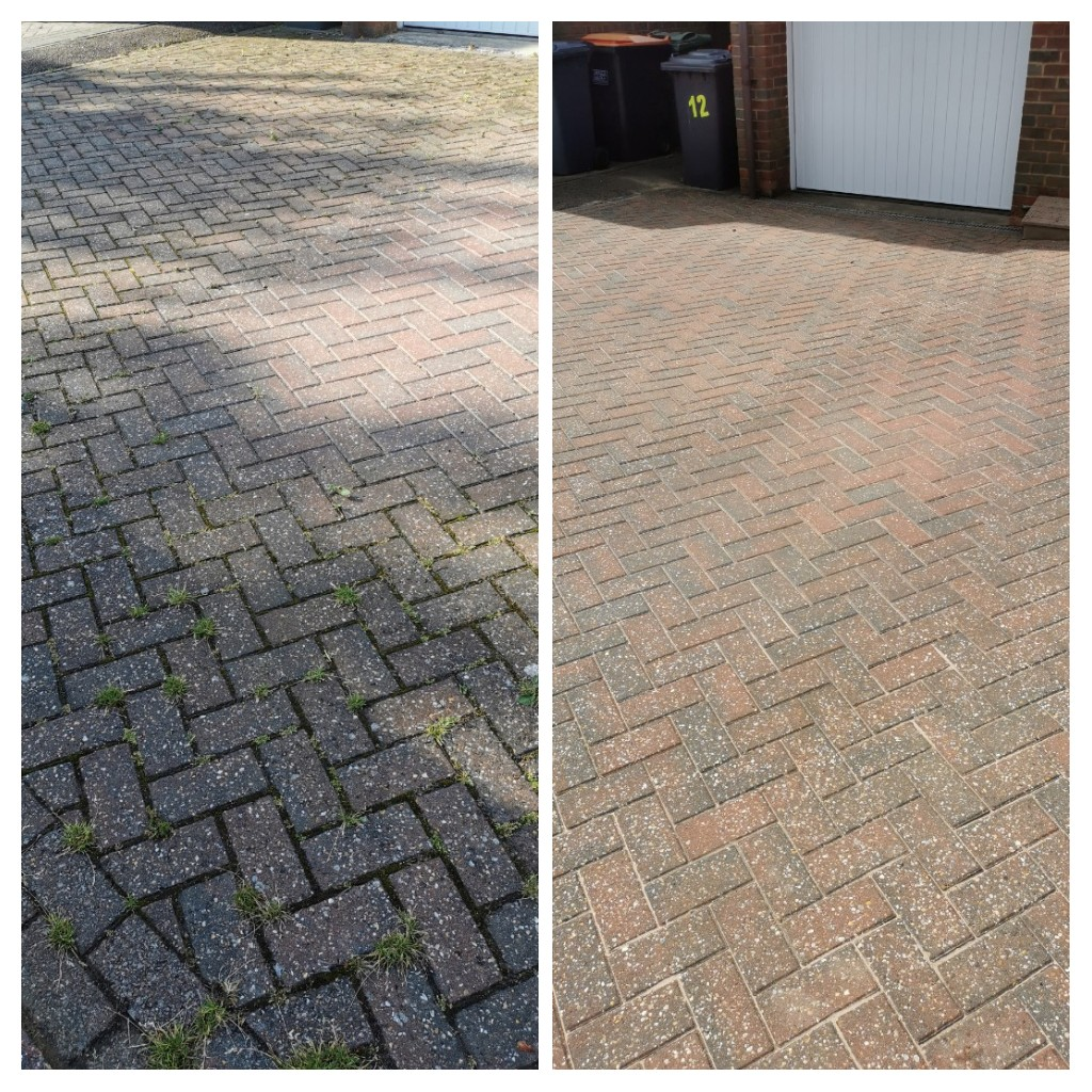Driveway Cleaning – Caddington