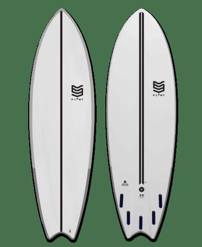 Flowt Magnet Fish Clear Carbon 58