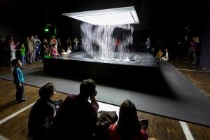 """Exposition """"Art Robotique"""" à la Cité des Sciences et de l'Industrie, Paris, avril 2014. © Arnaud Robin / 06 76 23 38 34 / wwww.arnaudrobin.net / arnaudrobin@free.fr"""