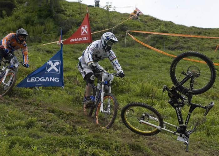 Kona Eliminator Fabien Barel Crash