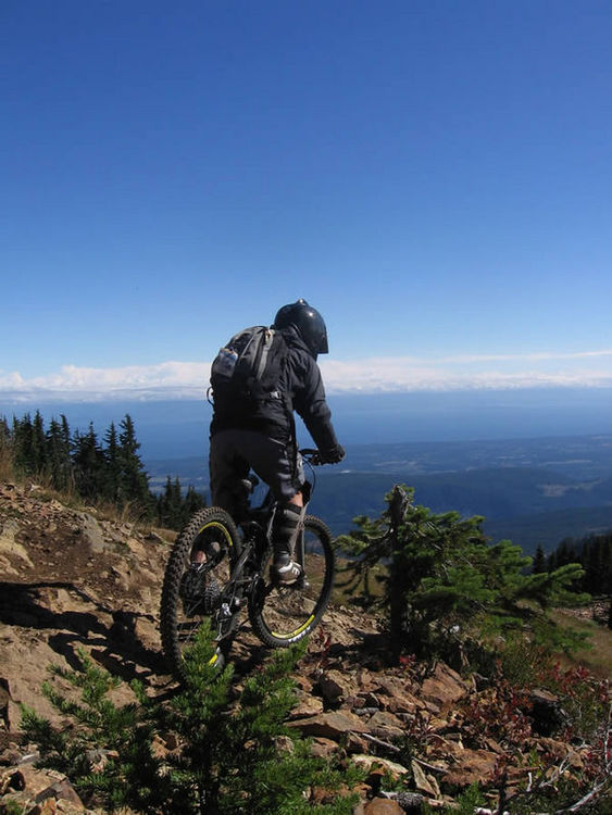 Mount Washington Bikepark Panorama