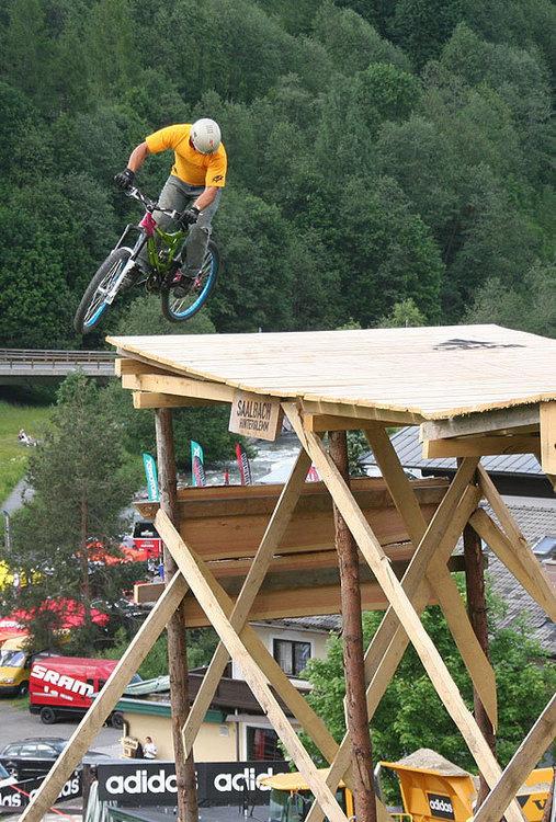 Darren Berrecloth 360 drop adidas slopestyle saalbach hinterglemm