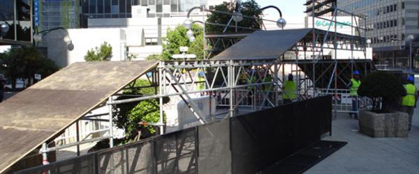 Qashqai - Bauarbeiten in Madrid für Qashqai Street Contest