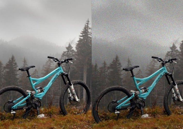 bike fotografie rauschen noise tipp