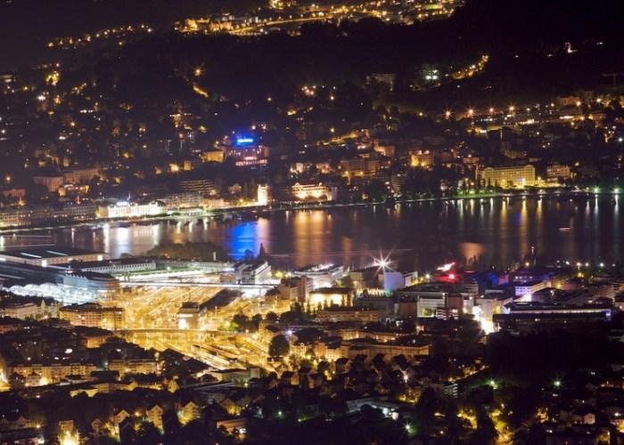 Rothenfluh Pilatus Luzern Nacht Night Lichter Musegg