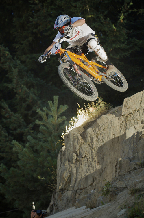 Brian Lopes Air DH Whistler Crankworx