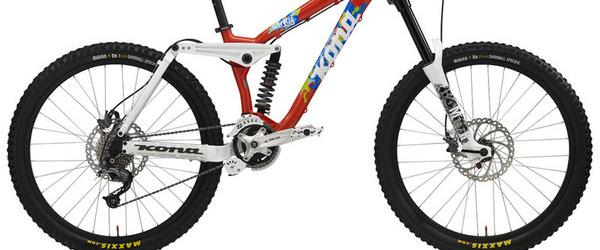 Bikepark Leogang - Kona Stinky zu gewinnen