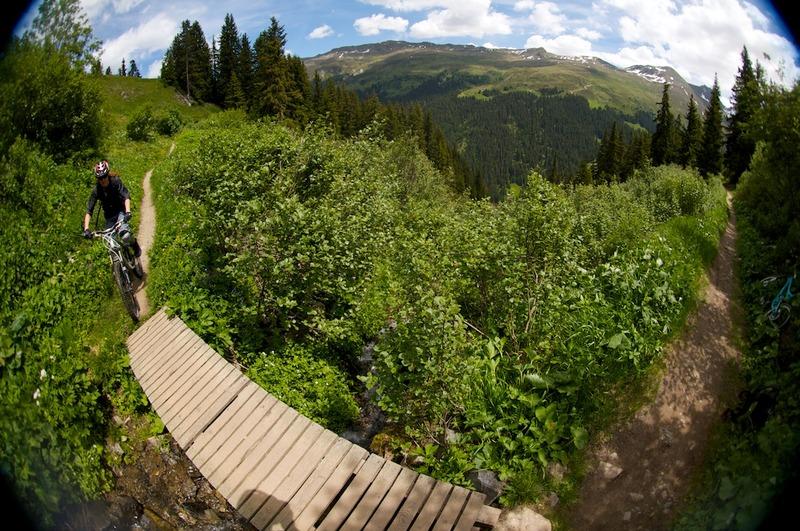 MTB Freeride Davos Klosters Sertig