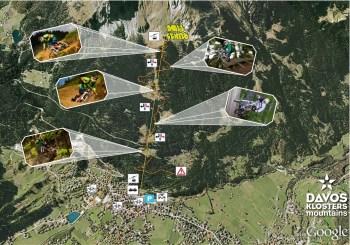 downhill freeride strecke davos/klosters gotschna boden