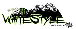 Monster Energy White Style 2012 Logo