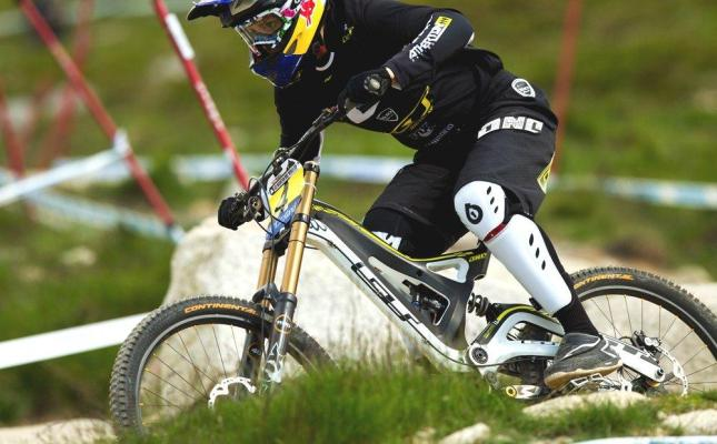 Rachel Atherton in Fort William 2012 - by Sven Martin