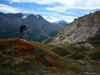Engadin St. Moritz Corviglia MTB Mountain Bike Freeride