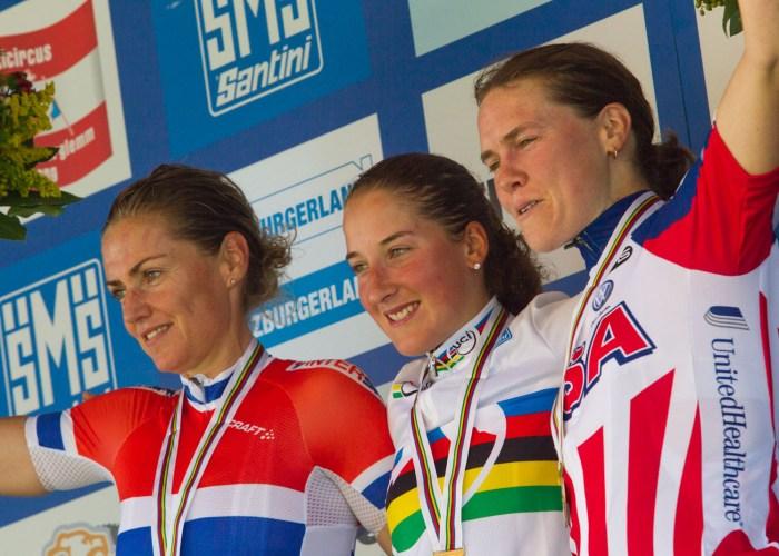 xc wm 2012 Frauen Podium Rangliste