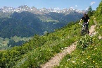 MTB Freeride Davos Klosters Sertig Rinerhorn