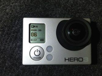 GoPro HD Hero3 - Frontansicht