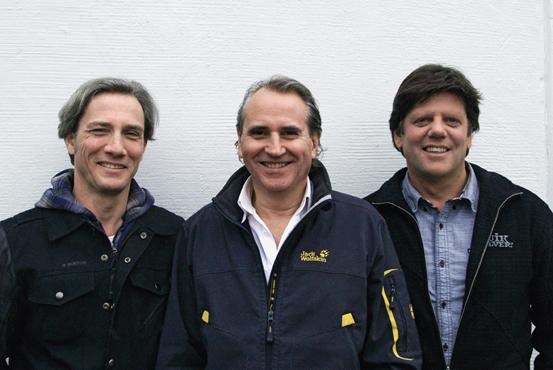 Drei starke Partner aus dem Veranstaltungsbereich stehen hinter der neuen BikeDays GmbH. Vlnr: Donald Nader, Peter Hürlimann und Erwin Flury.