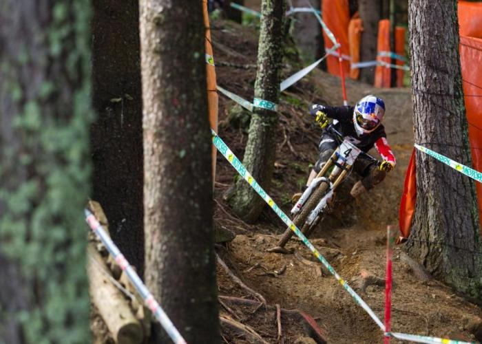 Gee Atherton UCI DH WC 2012 Leogang