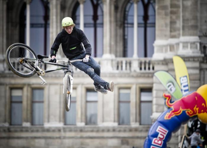 Thomas Genon beim Vienna Air King 2012