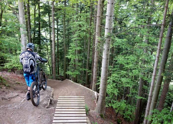 Luftseilbahn Downhillstrecke Schattdorf haldi schattdorf downhill bike