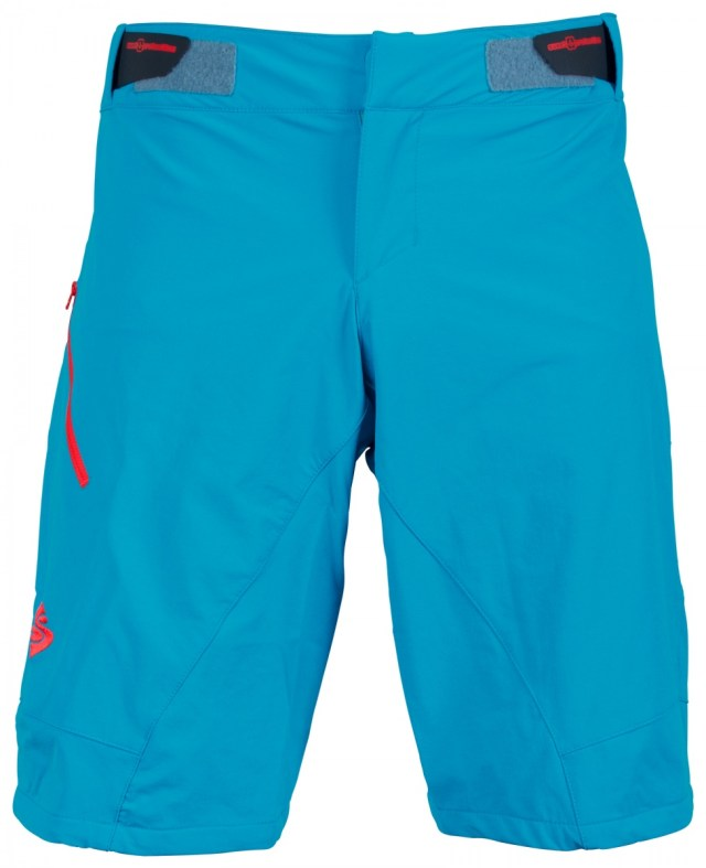 sweet protection frantic blue blau shorts enduro