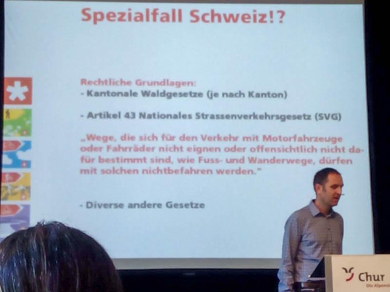 Schweizmobil: Die Rechtslage in der Schweiz