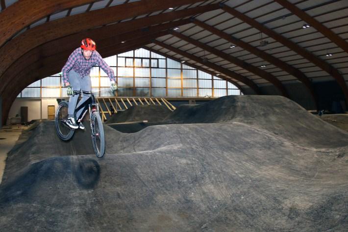 claudio caluori indoor bikepark