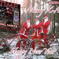 Santa claus santa cruz weihnachten xmas bike