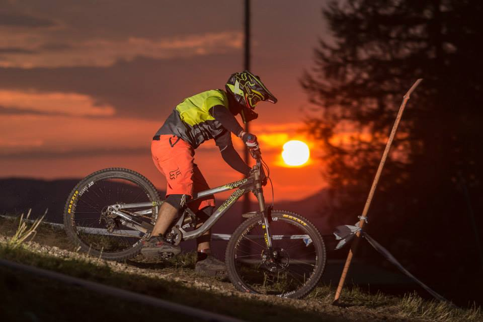 24h downhill race the night semmering 2015