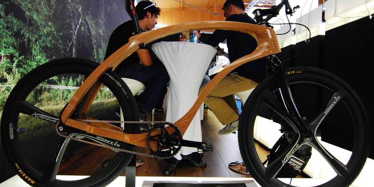 Konceptbikes gehören an die Eurobike, wie die Konceptcars an die Automesse