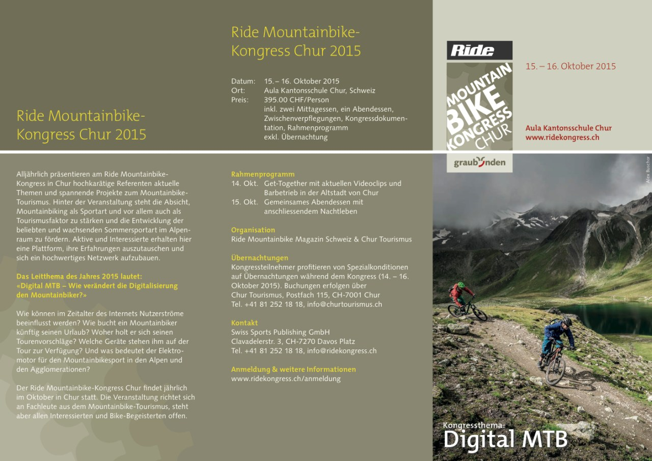 flyer ride mountainbike kongresse 2015
