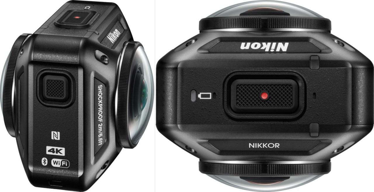 actioncam nikon keymission 360 helmkamera