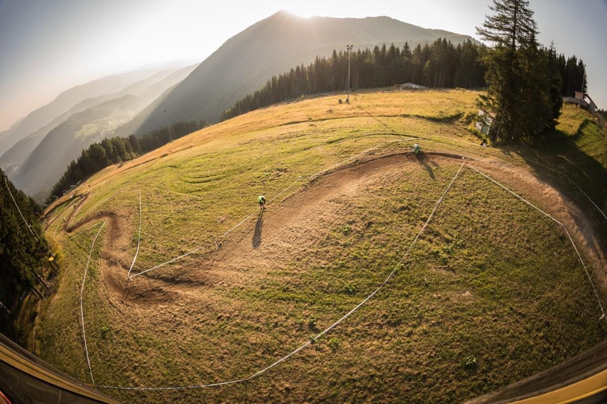 Semmering 24er_Strecke Downhill race