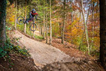Bike Strecke Half Metal Trail Sissach Basel